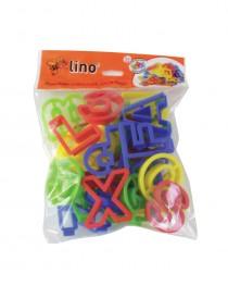 LNK-10 Oyun Hamuru Harf Kalıbı Seti