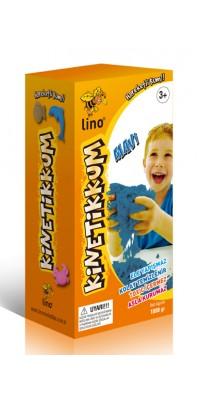 LN-1000M Lino Kinetik Kum Mavi 1000 gr. Kutu