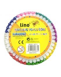 15QT-12 Lino Quilling Toplu İğne