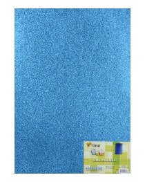 RBE 507 Lino Eva 50X70cm. Mavi 2mm. Simli