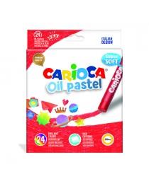 Carioca Süper Yumuşak Pastel Boya Kalemi 24'Lü