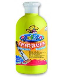 Carioca Tempera Suluboya Süper Yıkanabilir Açık Sarı 500 Ml.