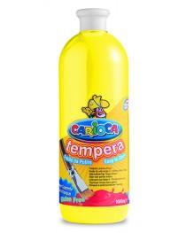 Carioca Tempera Suluboya Süper Yıkanabilir Açık Sarı 1000 Ml.