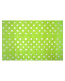 KUN18 Elyaf Kağıt Noktalı Yeşil