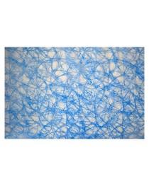 KUN20 Elyaf Kağıt Düz Mavi